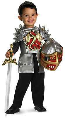 Knight of the Dragon Medieval Fancy Dress Up Halloween Toddler Child Costume (Toddler Knight Costume)