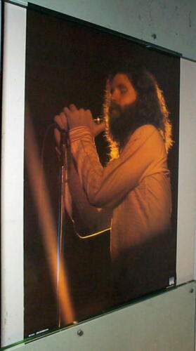 JIM MORRISON Stage Very Vintage Poster Only One!