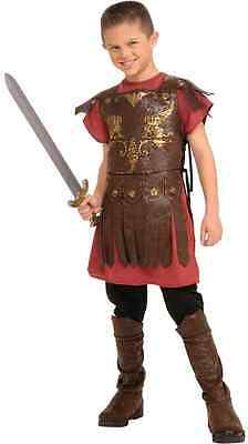 Gladiator Boy Greek Roman Warrior Fighter Fancy Dress Up Halloween Child Costume