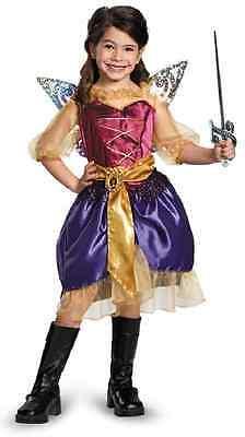 Pirate Zarina Disney Fairies Fairy Pixie Fancy Dress Up Halloween Child Costume (Pirate Fairy Halloween Costume)