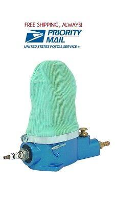 Pneumatic Air Spark Plug Cleaner Sand Blaster Tool Cleaning   Blasting Abrasive