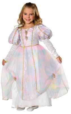 Rainbow Princess Renaissance Fairy Fancy Dress Halloween Toddler Child Costume