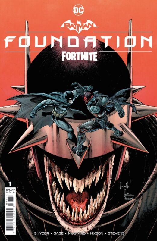 BATMAN FORTNITE FOUNDATION #1 (ONE SHOT) COVER A CAPULLO 10/26 2021 PRESALE