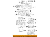 NIB OEM Land Rover Discovery Label BAC000560