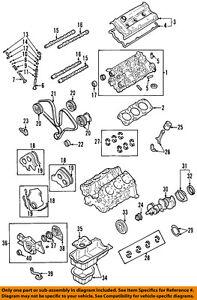 Kia Oem 02 05 Sedona Engine Timing Belt 2431239800
