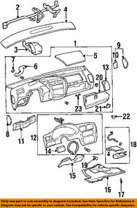 oldsmobile gm cutlass supreme instrument panel dash fuse box door 10224204 ebay
