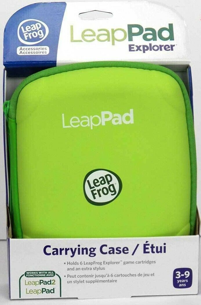 LeapFrog LeapPad Carrying Case, Green