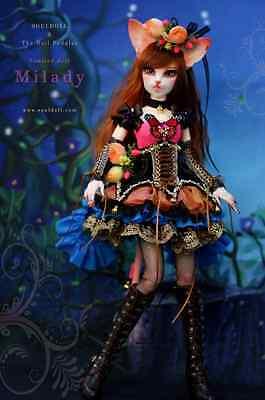 BJD 1/4 MSD Souldoll Milady Fullset Outfit Dress Doll Peddlar Exclusive