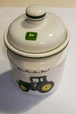 John Deere medium size canister for country style kitchen.
