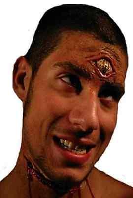 Third Eye Cyclops Monster Fancy Dress Halloween Costume Makeup Latex - Cyclops Eye Halloween