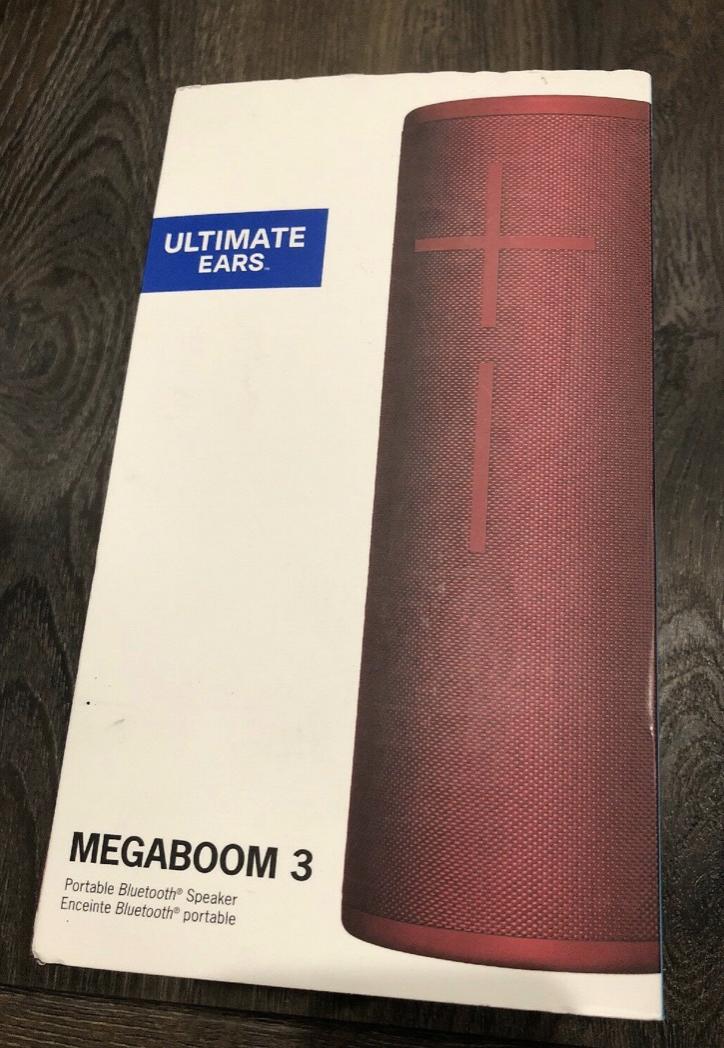 Ultimate Ears MEGABOOM 3 Wireless Bluetooth Speaker