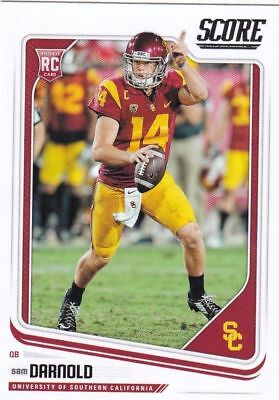 Sam Football - 2018 Score Football Sam Darnold USC Rookie Card New York Jets