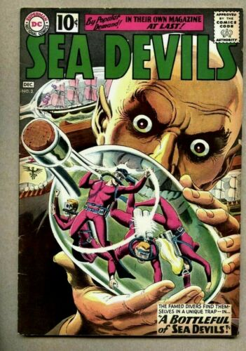 Sea Devils #2-1961 fn Russ Heath / Bob Haney DC Comics