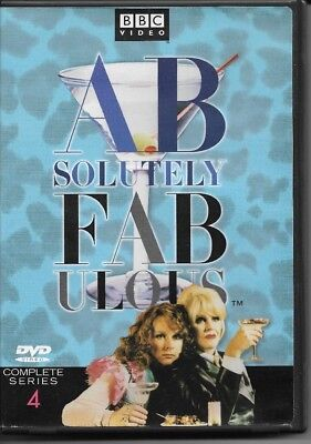 Absolutely Fabulous Series 4 DVD VG-EX Condition