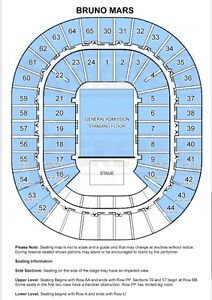 Bruno Mars 2 x Hot Seat Package Admit (400 each) 7/3/18 Rod Laver Forest Hill Whitehorse Area Preview
