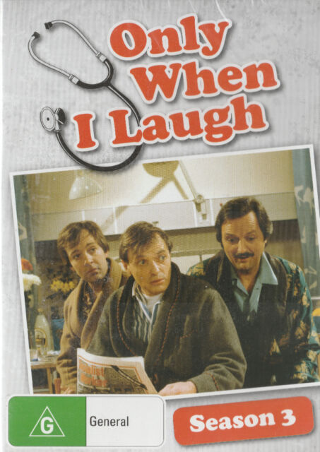 ONLY WHEN I LAUGH Season 3 * New & SEALED * Region 4
