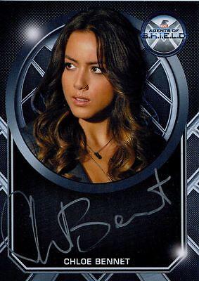 Agents Of Shield Season 2 Silver Series  Autograph Card Chloe Bennet