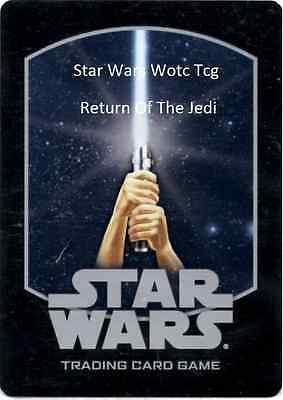 Star Wars wotc TCG Return of The Jedi Rare Cards Part 1/2