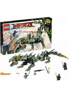 Lego 70612 Ninjago Movie - Green Ninja Mech Dragon - Brand New Sealed Box