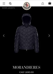 Excellent condition men's Moncler down coat