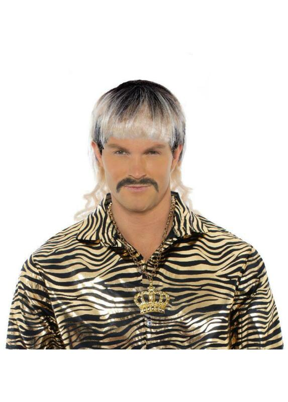 Joe Exotic Tiger King Adult Mullet Costume Wig
