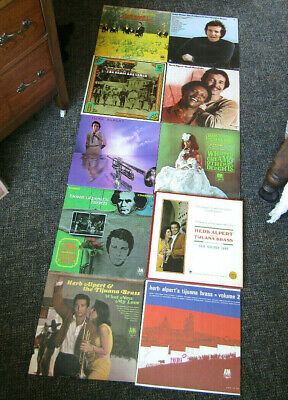 HERB ALPERT(LOT OF 10)LPS