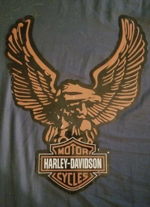 Harley Davidson Motorcycles Vintage Metal Sign