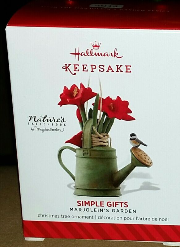 Hallmark Spring Themed Ornament 2014 Simple Gifts Marjolein
