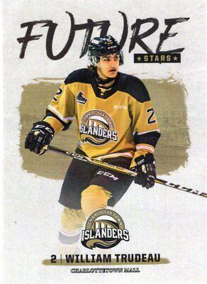 2019/20 Charlottetown Islanders (QMJHL) - WILLIAM TRUDEAU (Future Stars)