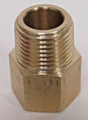 Brass Adapter 38 Npt Female X 38 Bspp Male New