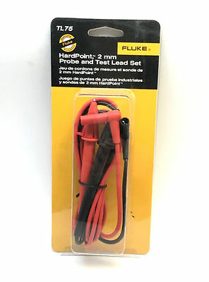 Fluke Tl75 Hard Point Test Lead Set Meter Probes Original In Stock Mms