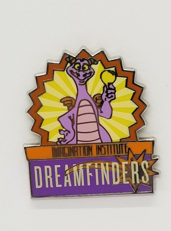 Disney Pin Mascots Mystery FIGMENT Imagination Institute Dreamfinders #115843