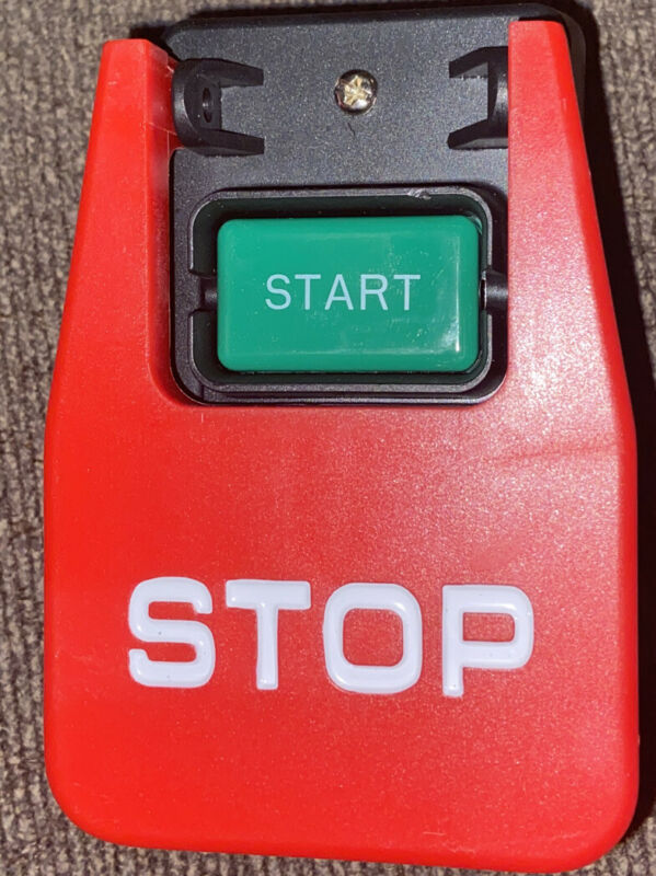 Kedu Hy56 220v Industrial Large Button Start/Stop Switch New