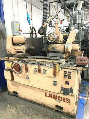 10 X 20 Landis 1r Universal Cylindrical Od Grinder 825-77 Made In The Usa