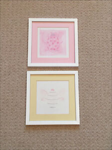 White framed pictures London Ontario image 1
