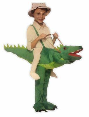 Ride-A-Gator Kids Child Costume - Alligator Crocodile Rider - Gator Kostüme