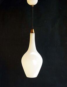 Lampada Vetro Satinato Murano Anni 40 50 Venini  eBay
