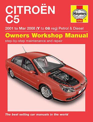 4745 Haynes Citroën C5 Petrol & Diesel (2001 - Mar 2008) Y to 08 Workshop Manual