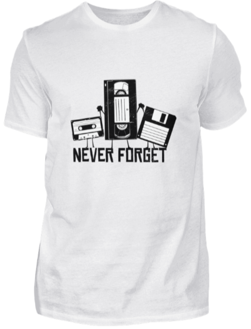 90er Jahre Party T-Shirt | Mottoparty Outfit Kleidung Kostüm 90s Tshirt Geschenk