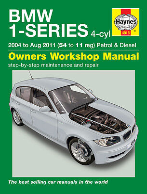 BMW 1-Series E81 E87 E82 116i 118i 120i 116d 118d 120d 04-11 Haynes Manual 4918