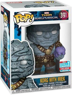 Funko POP!: Marvel: Thor: Ragnarok: Korg Exclusivo
