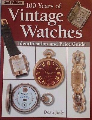 VINTAGE WATCH VALUE GUIDE COLLECTORS BOOK