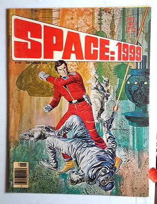Sep 1976 SPACE:1999 Comic Magazine #7- Photos/Articles/ Stories (K4481)