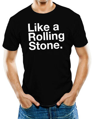Like A Rolling Stone Rolling Stones Bob Dylan T-Shirt