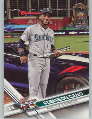 ROBINSON CANO 2017 Topps Update SP Photo Variation #US152 MARINERS