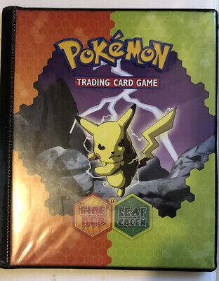 2004 EX Fire Red Leaf Green Pikachu/Charizard Trading Card Game Binder