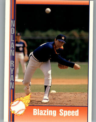 1991 Pacific Ryan Texas Express I Rangers Baseball Card #90 Blazing (Ryan Blaze)