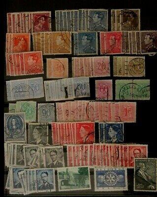 Beau lot de timbres anciens oblitérés, a voir