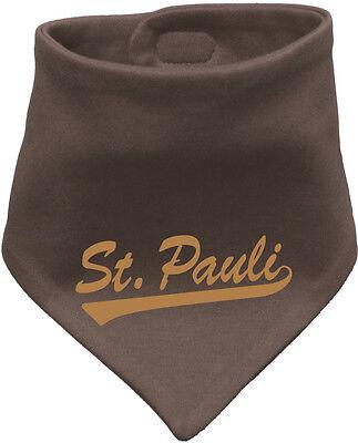 ST. PAULI  Baby Bandana Bib Halstuch, braun