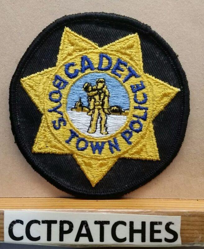 BOYS TOWN, NEBRASKA CADET POLICE SHOULDER PATCH NE
